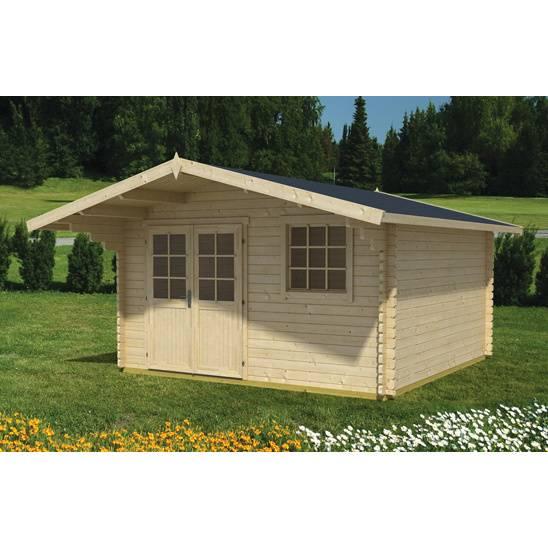 záhradný domček drevený