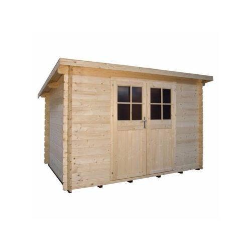 drevená chatka