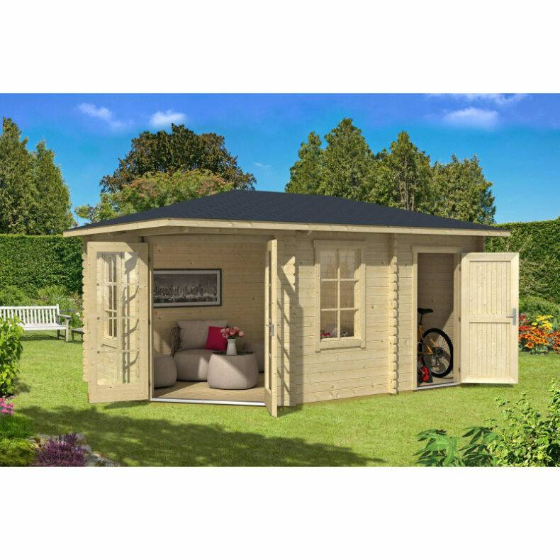 Luxusná chatka - Záhradný domček Aruba 2A