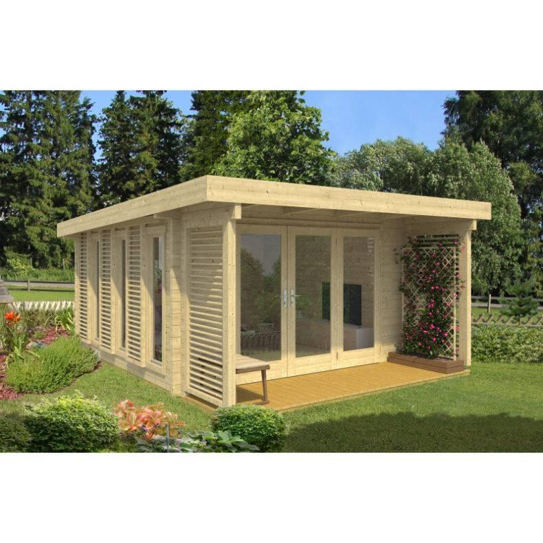 Luxusná záhradná chatka