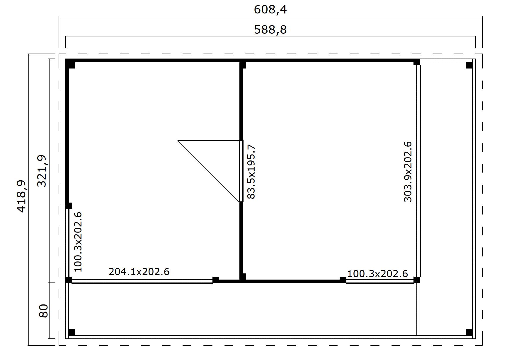 Domeo 3 v2 groundplan